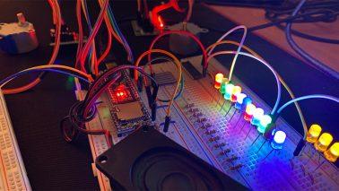 RailFX Effekte für Modellbahn und Modellbau mit Arduino Nano Jahrmarkt Modul Titel