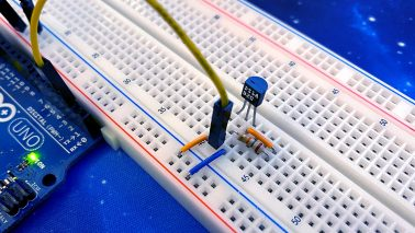 Arduino DS18B20 Digitaler Temperatursensor