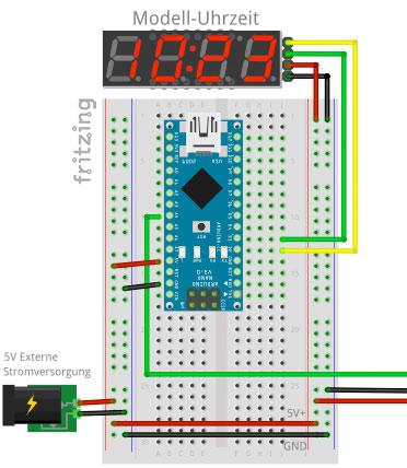 RailFX Control Modul Arduino Modellbahn Modelleisenbahn Schaltplan