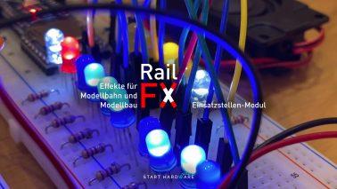 RailFX-Einsatzstelle Blaulicht, Sirene, MP3 Player mit Arduino Nano