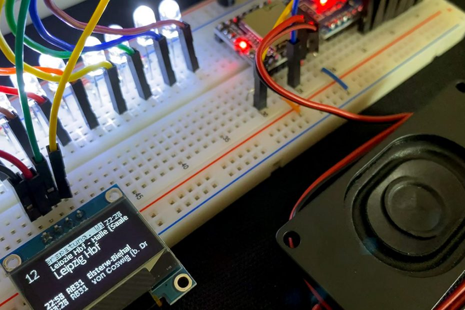 Arduino Bahnhof RailFX OLED