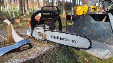 RailFX Waldarbeiten Arduino Modellbahn Servo Fallender Baum