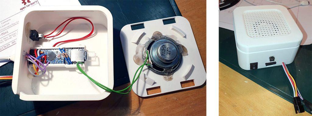 Arduino Kaugummi-Automat Gehäuse 3D Druck