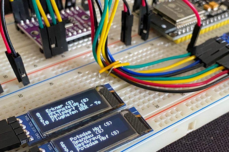 RailFX Zugzielanzeiger ESP32 Live