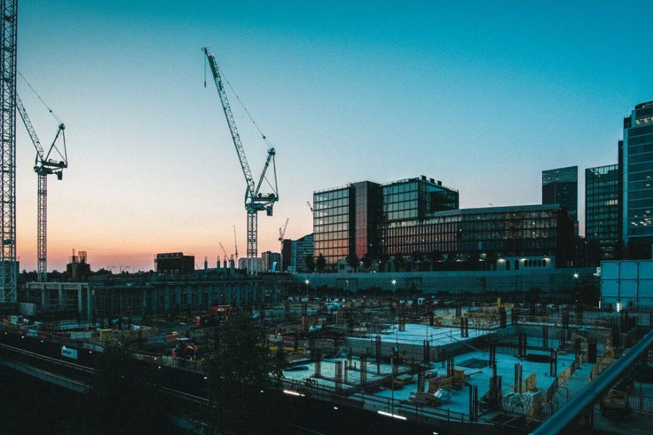 Arduino RailFX Baustelle Industrie Kran